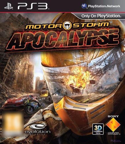 MotorStorm Apocalypse Ps3 Mídia Física Seminovo Completo