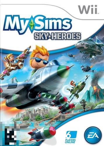 My Sims Sky Heroes Wii Mídia Física Completo Seminovo