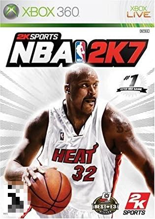 NBA 2K7 Xbox 360 Mídia Física Seminovo Somente Console Japonês