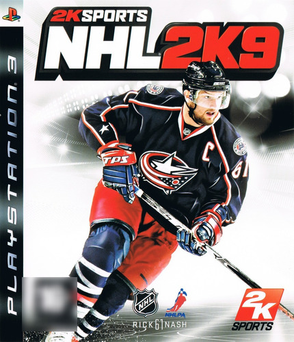 NHL 2K9 2K Sports Ps3 Mídia Física Seminovo Completo
