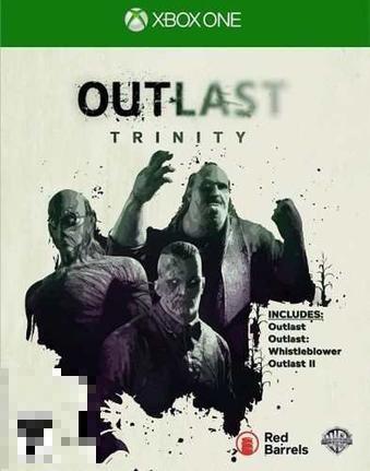 Outlast Trinity Xbox One Mídia Física Completo Lacrado