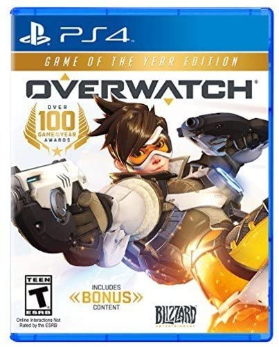 OverWatch Game Of The Year Edition PS4 Mídia Física Completo Lacrado