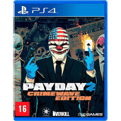 Payday 2 Crime Wave Edition PS4 Mídia Física Completo Seminovo