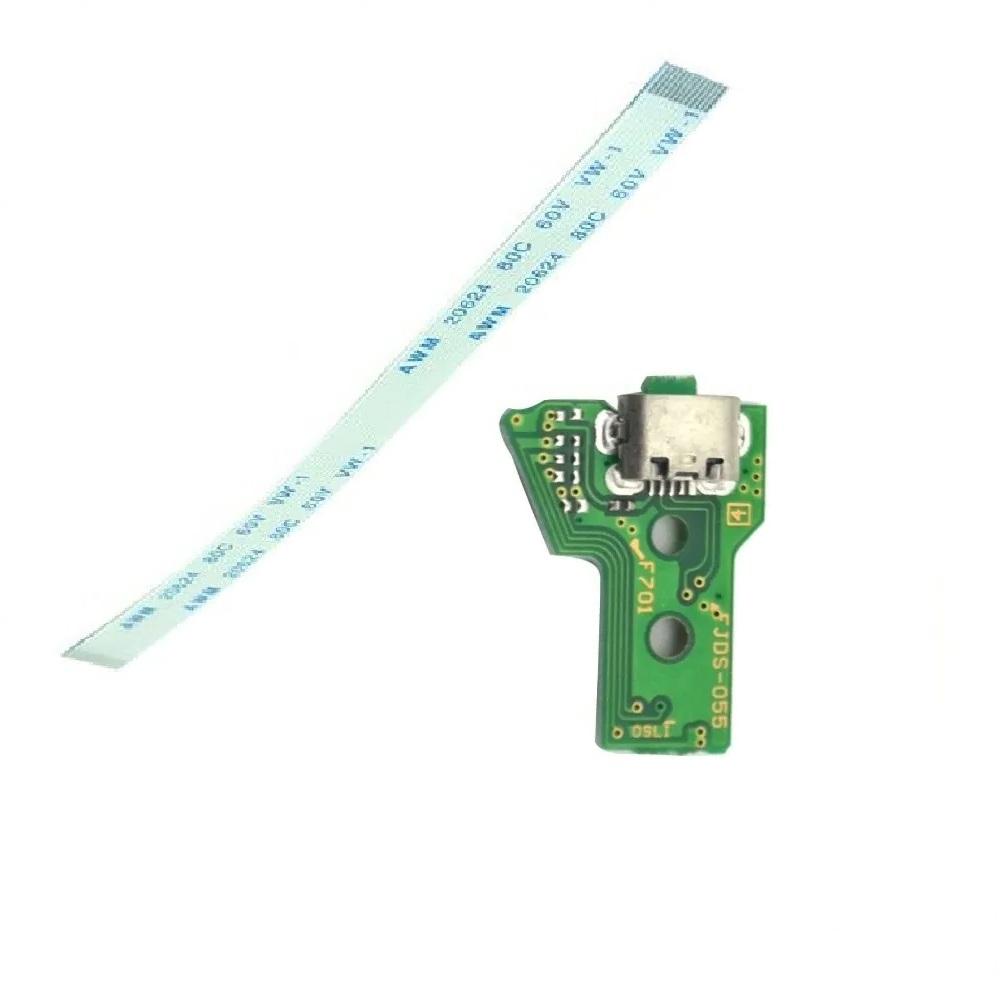 Placa Usb Carregar Controle Ps4 Flat Pro Jds Jdm 050 055