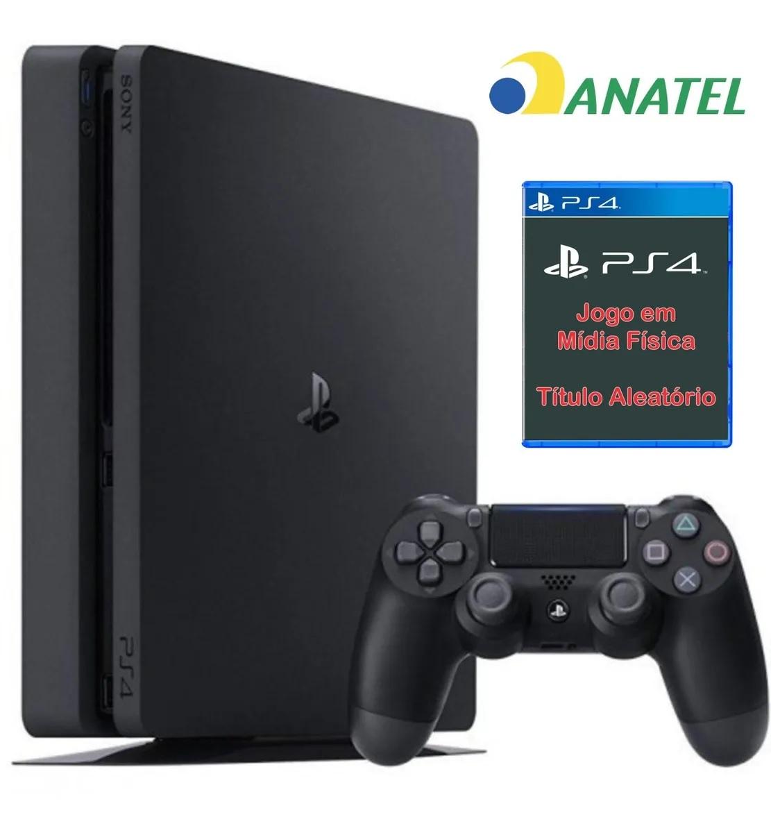 PlayStation 4 500 Gb Slim Seminovo com Brinde