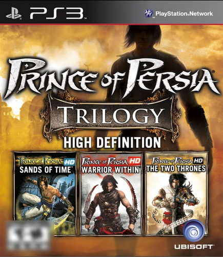 Prince of Persia Trology Remastered in High Definition PS3 Mídia Física Completo Seminovo