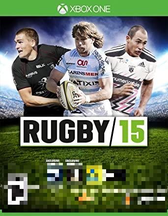 Rugby 15 Xbox One Mídia Física Completo Lacrado