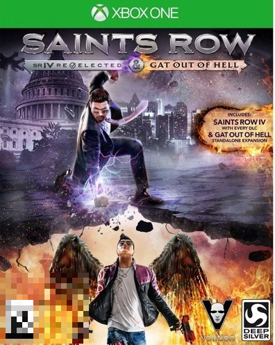 Saints Row IV: Re-Elected & Gat Out Of Hell Xbox One Mídia Física Completo Lacrado