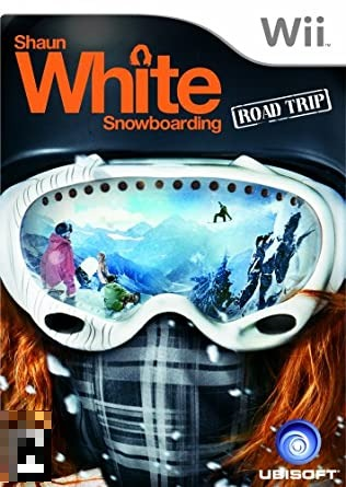 Shaun White Snowboarding Road Trip Acessório Não Incluso Wii Mídia Física Completo Seminovo