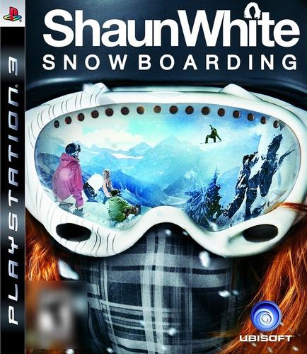 ShaunWhite Snowboarding PS3 Mídia Física Completo Seminovo