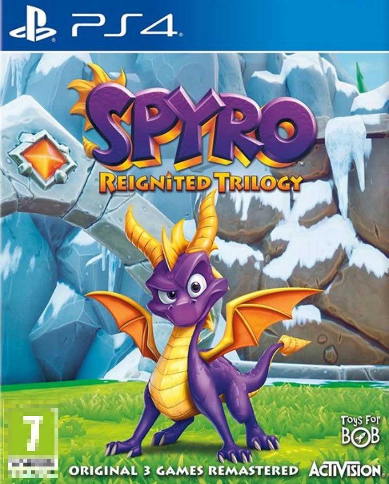 Spyro Reignited Trilogy PS4 Mídia Física Seminovo