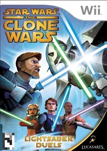 Star Wars The Clone Wars LD Wii Mídia Física Completo Seminovo