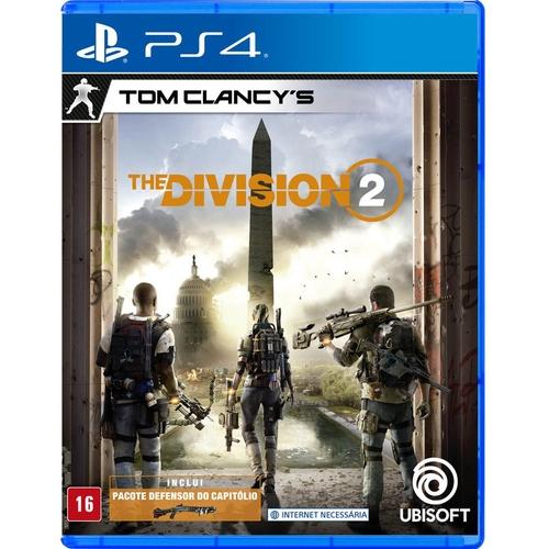 TC The Division 2 PS4 Mídia Física Completo Seminovo