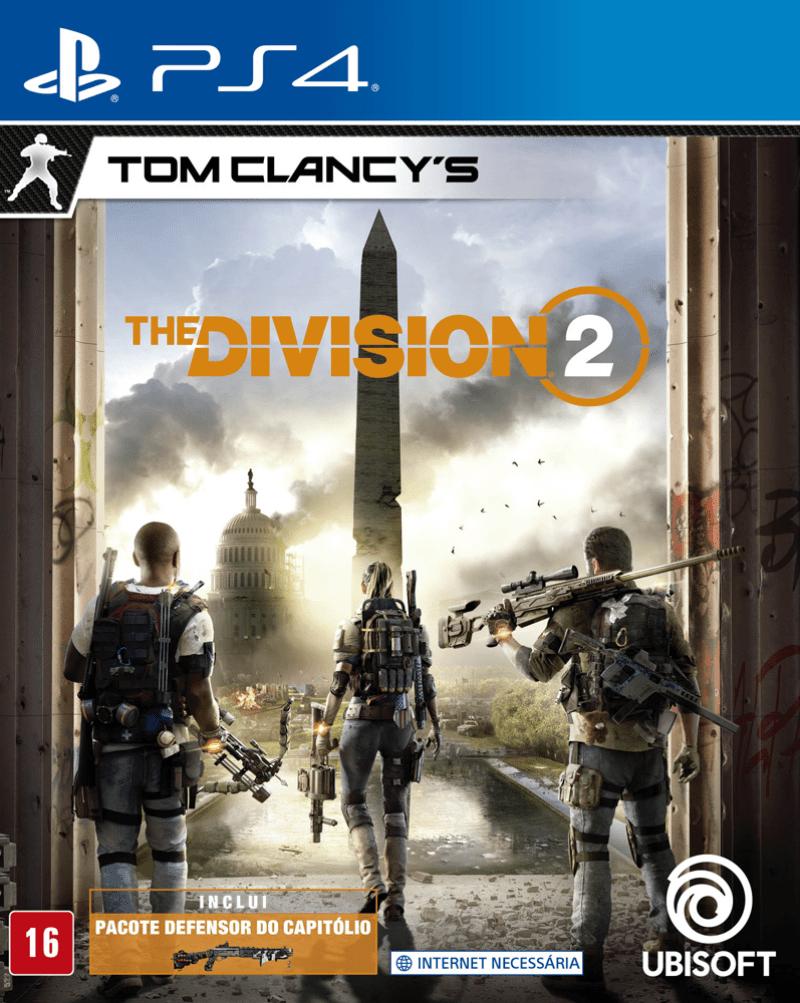 TC The Division 2 PS4 Mídia Física Seminovo