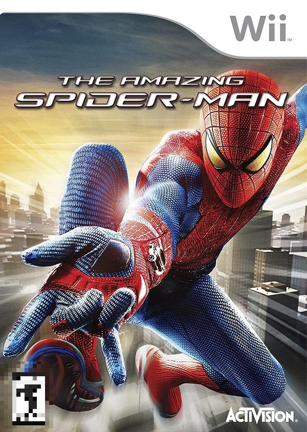 The Amazing Spider-Man Wii Mídia Física Completo Seminovo