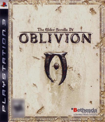The Elder Scrolls IV: Oblivion Ps3 Mídia Física Seminovo Completo