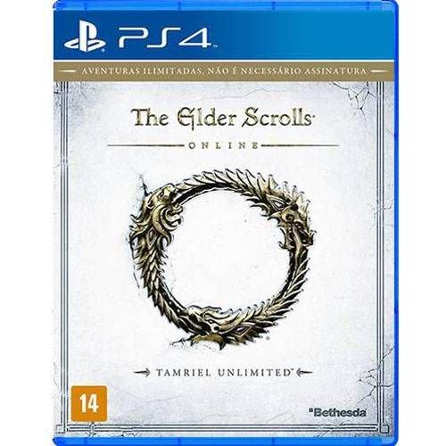 The Elder Scrolls Online PS4 Mídia Física Completo Seminovo