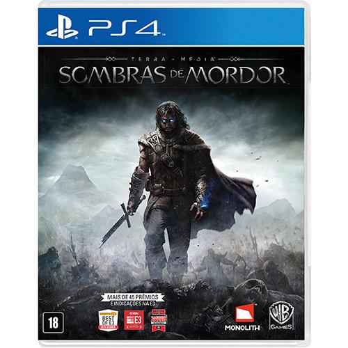TM Sombras de Mordor PS4 Mídia Física Completo Seminovo