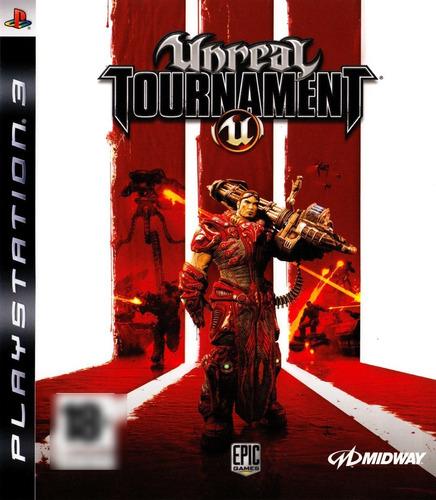 Unreal Tournament III PS3 Mídia Física Completo Seminovo