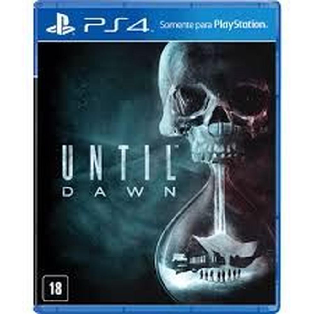 Until Dawn PS4 Mídia Física Seminovo
