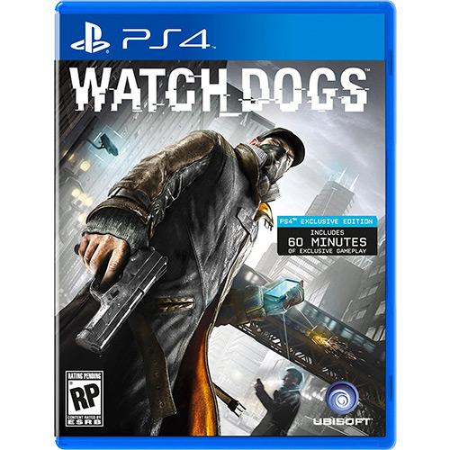 Watch Dogs PS4 Mídia Física Completo Seminovo