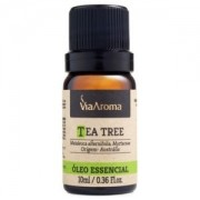 Óleo essencial Tea Tree Melaleuca - 10ml - Via Aroma