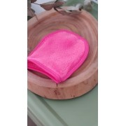 Toalha reutilizável de microfibra - Luva Removedora de Maquiagem