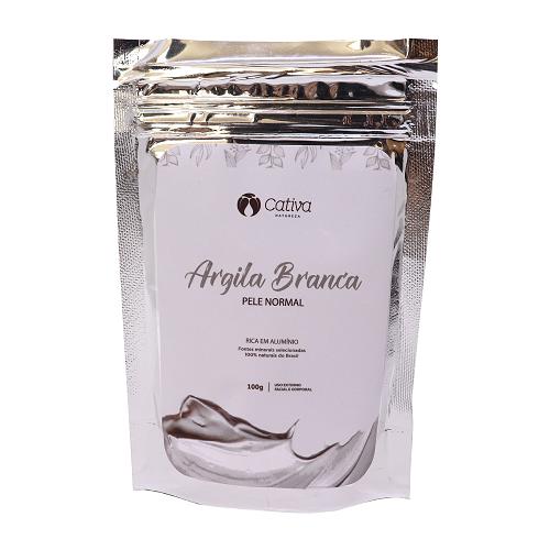 Argila Branca - 100g - Cativa Natureza