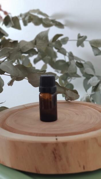 Frasco de Vidro Âmbar com Gotejador - 10ml - Embalagem para aromaterapia