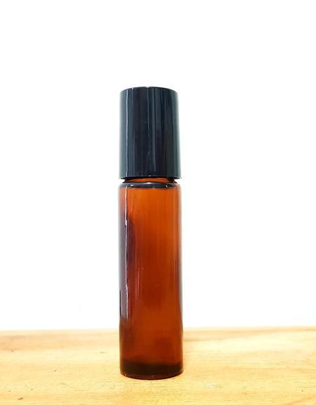Frasco Rollon Âmbar 10ml - Embalagem para Aromaterapia