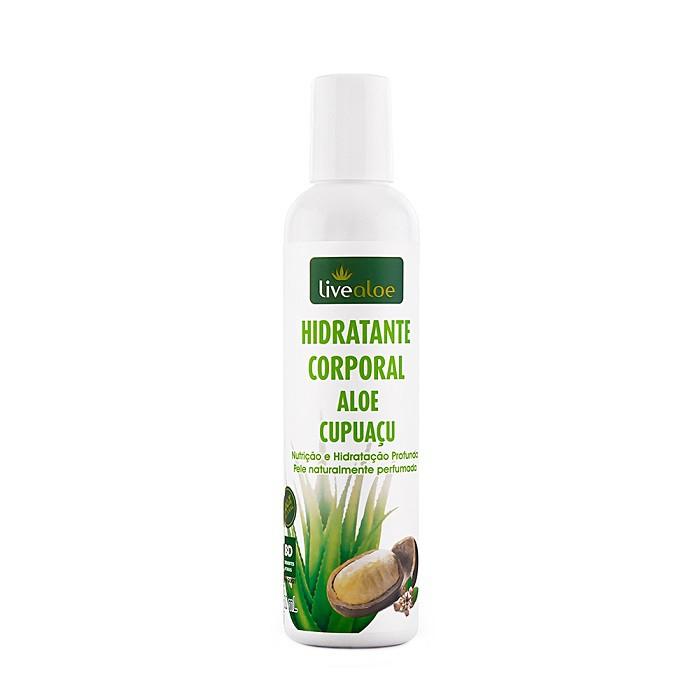 Hidratante Corporal Aloe Cupuaçu - LiveAloe - 200ml