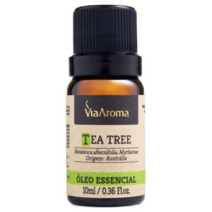 Óleo essencial Tea Tree Melaleuca - 10ml - Via Aroma