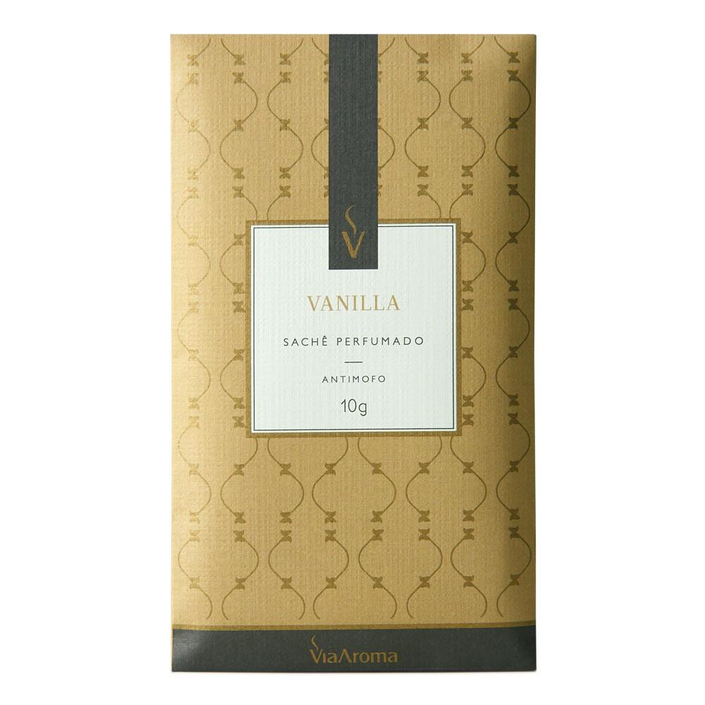 Sachê Perfumado 10 g - Vanilla (Baunilha) - Via Aroma