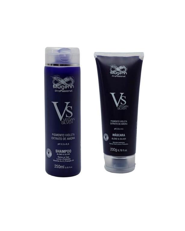 Kit Matização Vegan Silver & BLond (2 produtos)