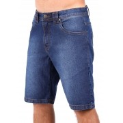 Bermuda Jeans Vida Marinha Azul