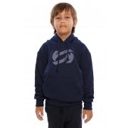 Blusa de Moletom Infantil Vida Marinha Azul com Capuz