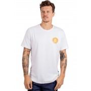 Camiseta Vida Marinha Manga Curta Branco
