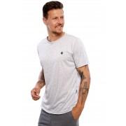 Camiseta Vida Marinha Manga Curta Especial Cinza