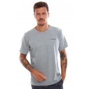 Camiseta Vida Marinha Manga Curta Grafite