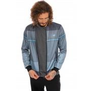 Jaqueta de Helanca Vida Marinha Azul/Cinza