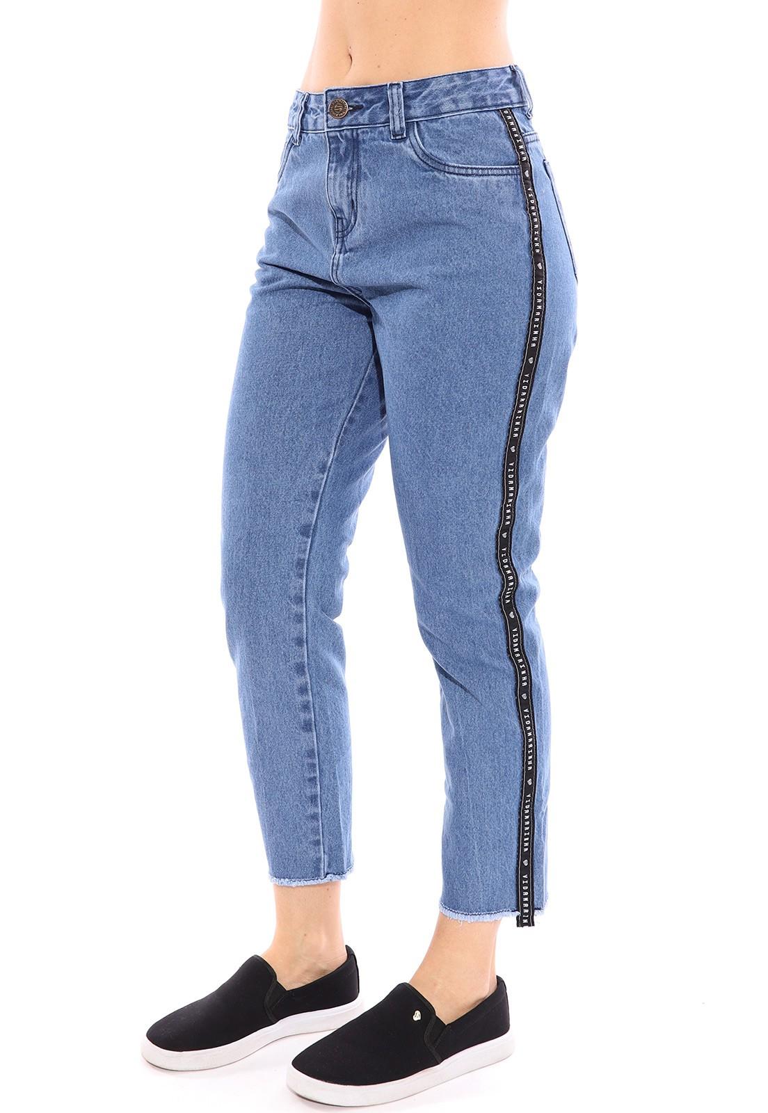 Calça Jeans Vida Marinha Joaquina Mom