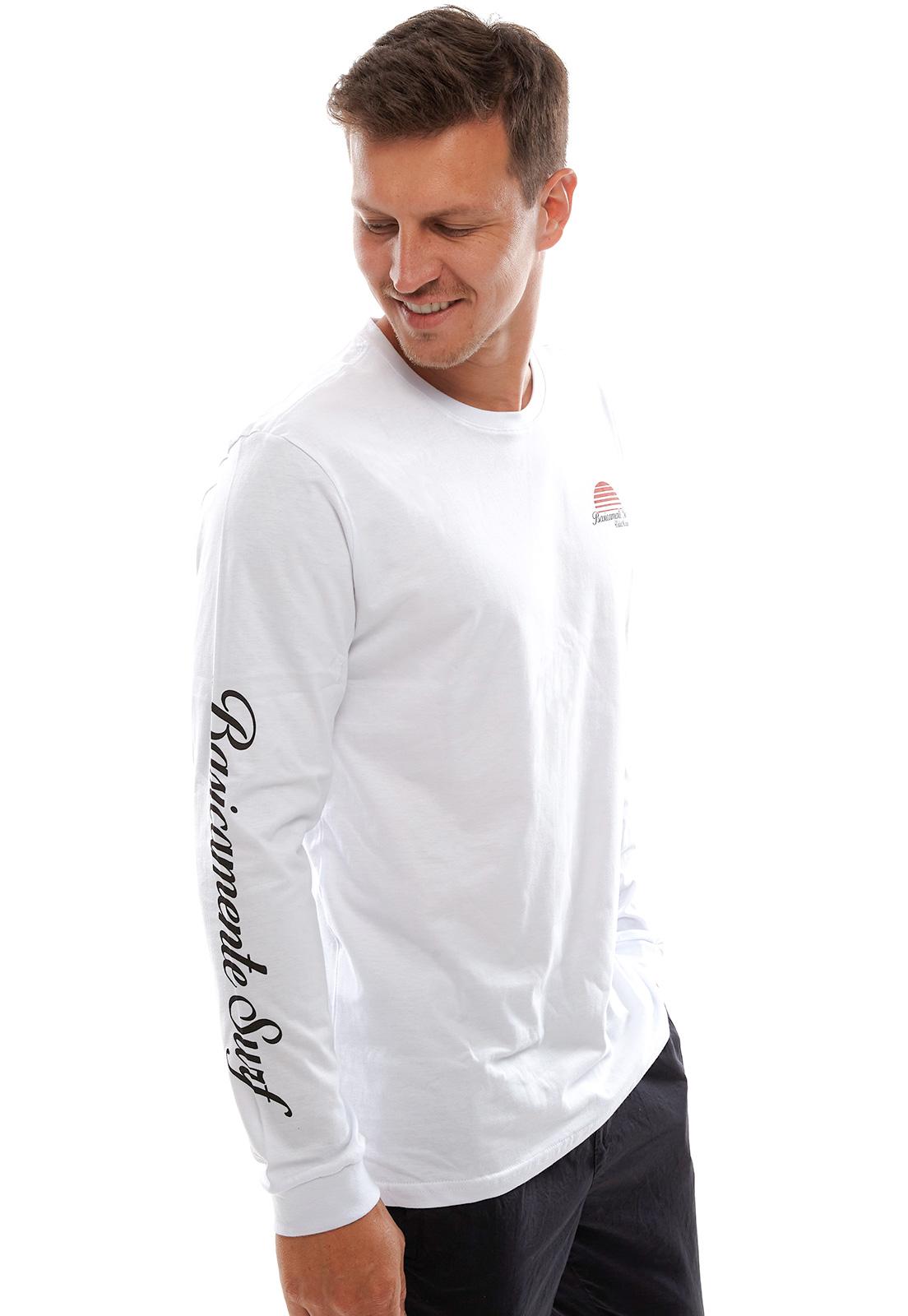 Camiseta Vida Marinha Manga Longa Branca