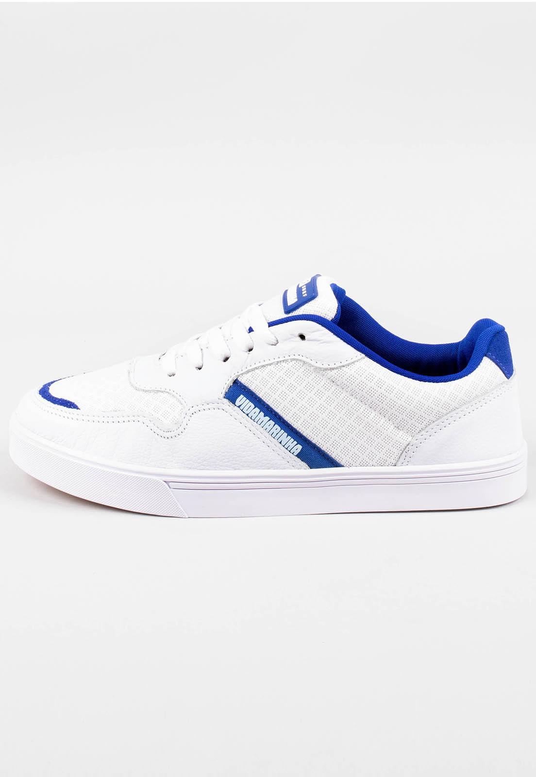 Tênis Vida Marinha Floripa Branco/Azul