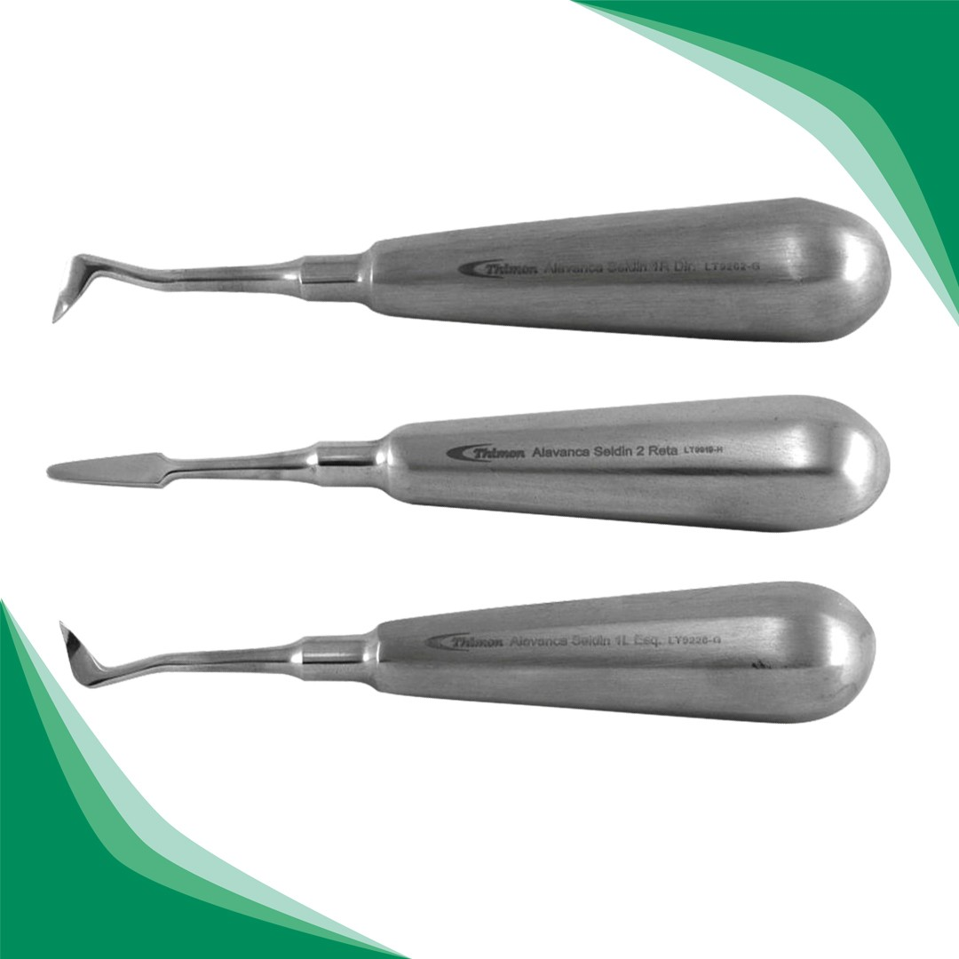 ALAVANCA SELDIN ADULTO JG C/ 3PCS