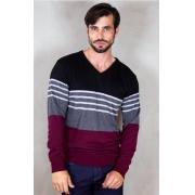 Suéter Masculino gola em V