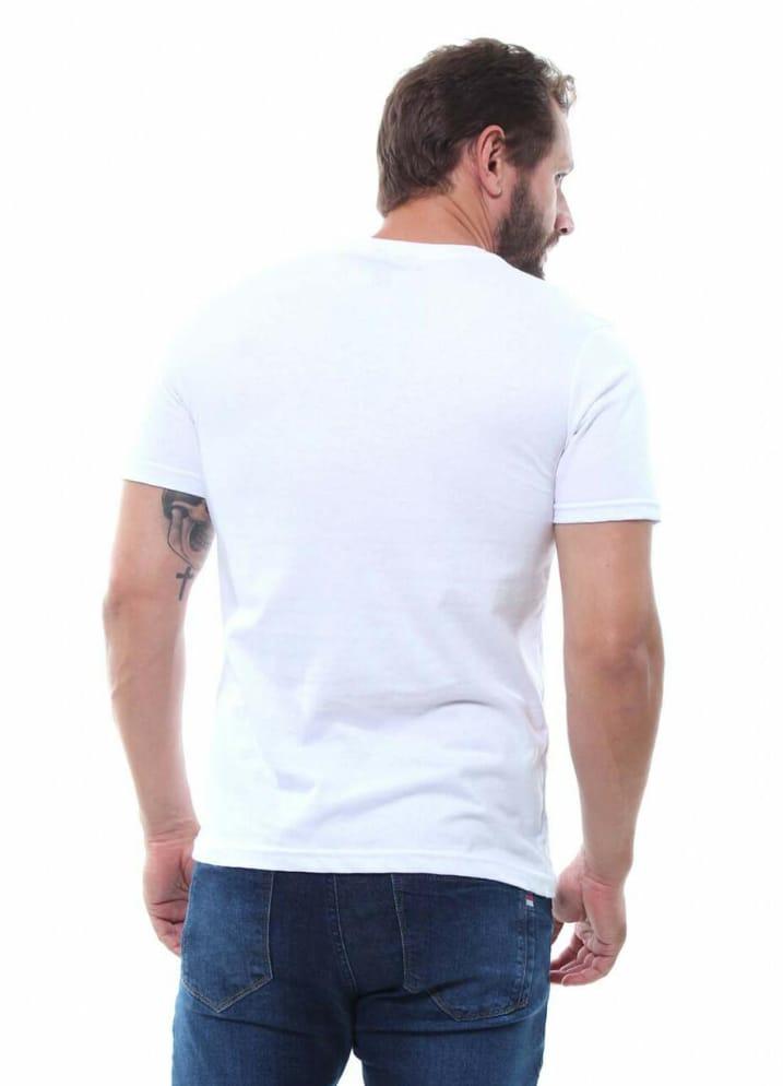 Camiseta Masculina de Manga Curta