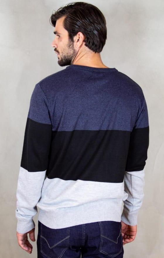 Suéter Masculino Estampado gola em V