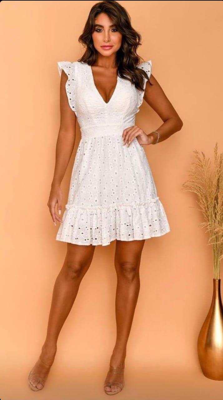 Vestido Feminino de Lasse Off White