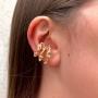 Piercing Fake Juliette Banhado Ródio e Ouro 18K