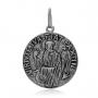Pingente Prata 925, Medalha São Bento